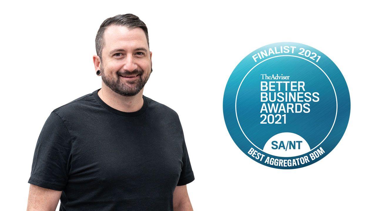 Liam Shortlisted for Best Aggregator BDM